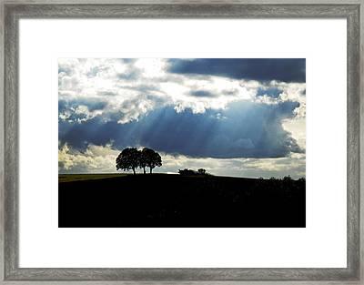 Light Rays Framed Print by Margaret Hood