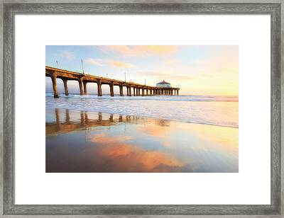 Light Reflections Framed Print by Nicki Frates