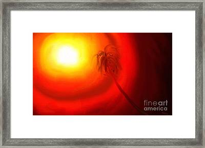 Framed Print featuring the painting Light by Rushan Ruzaick
