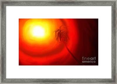 Light Framed Print by Rushan Ruzaick