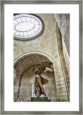 Light Samothrace  Framed Print