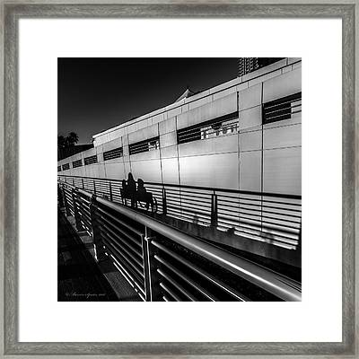 Light Shadows Framed Print by Marvin Spates