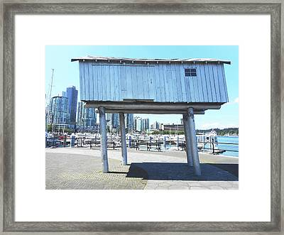 Light Shed 1 Framed Print