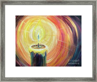 Light Shine Bright Framed Print