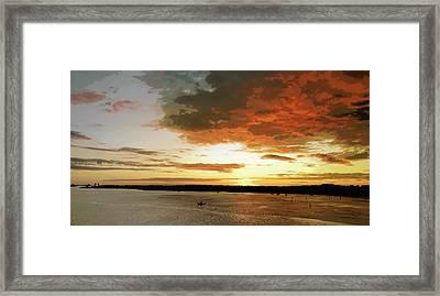 Light Show Framed Print by Steve Sperry