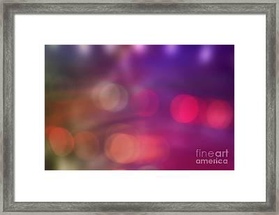 Light Shows Framed Print