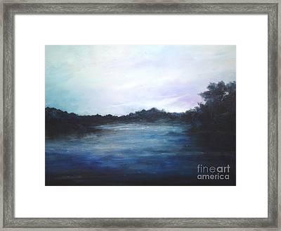 Light Sky Framed Print by Rushan Ruzaick