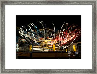 Light Spin Framed Print by Alicia White