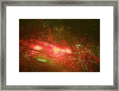 Light Spirals 6 Framed Print by Chris Rodenberg