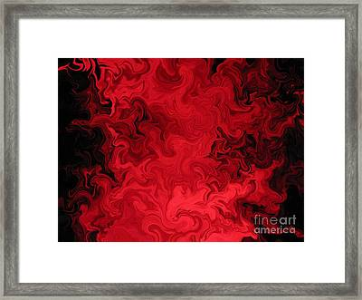 Light Splash Framed Print