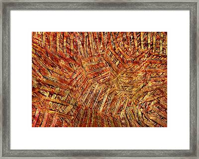 Framed Print featuring the mixed media Light Steps by Sami Tiainen
