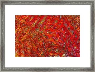 Framed Print featuring the mixed media Light Sticks 2 by Sami Tiainen