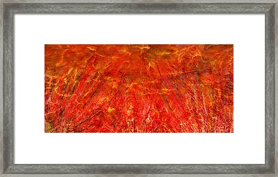 Framed Print featuring the mixed media Light Storm by Sami Tiainen