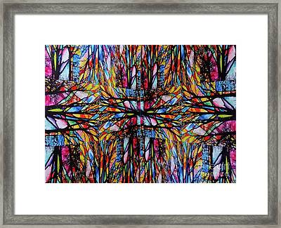 Light Strands Framed Print