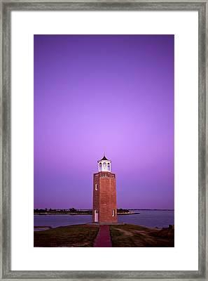 Light Switch Framed Print by Evelina Kremsdorf