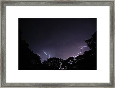 Light The Night 3 Framed Print by Clay Peters Photography