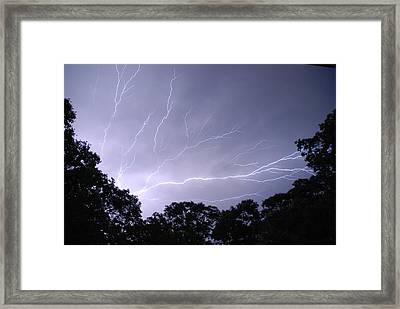 Light The Night 4 Framed Print by Clay Peters Photography
