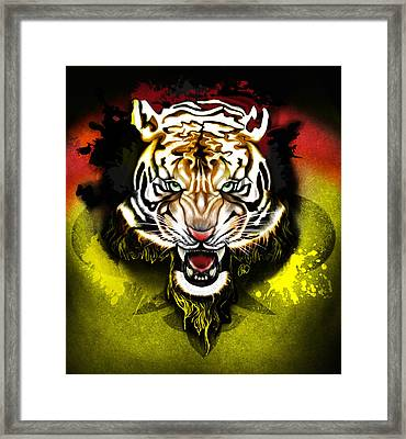 Light The Torch Framed Print by AC Williams