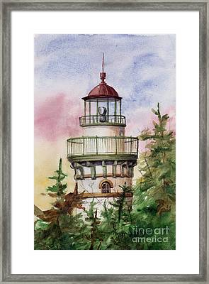 Light The Way Framed Print
