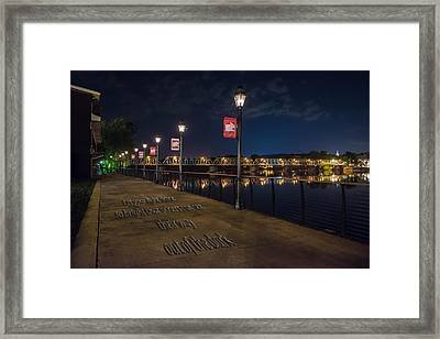 Light The Way Framed Print by Ryan Crane