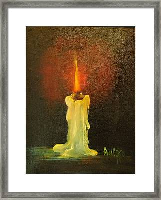 Light The Way Framed Print by Sally Seago