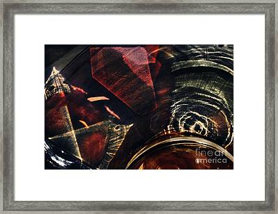 Light Through Glass Framed Print by Elena Lir-Rachkovskaya