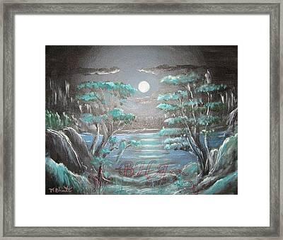 Light Touches Edges Framed Print by M Bhatt
