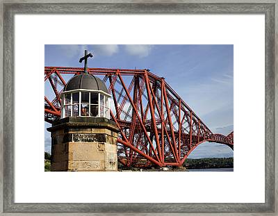 Framed Print featuring the photograph Light Tower by Jeremy Lavender Photography