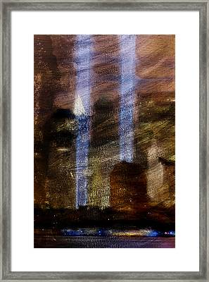 Light Towers Framed Print by Andrea Barbieri