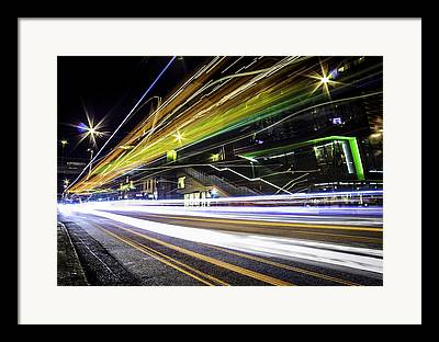 Nightshot Framed Prints
