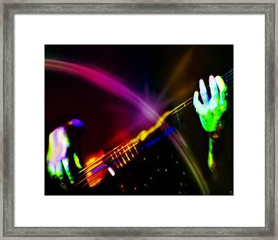 Light Travels Framed Print