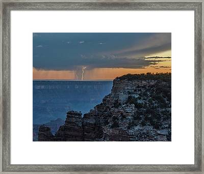 Light Up The Sky Framed Print
