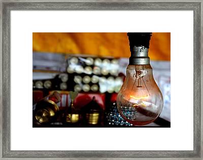 Light Framed Print by Vartika Rana