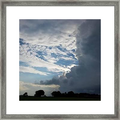 Light Vs Dark Framed Print by Raven Moon