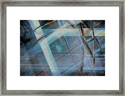 Light Wave Rust Framed Print