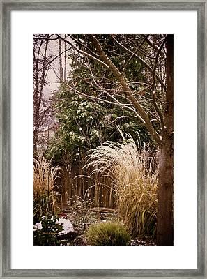 Light Winter Snow Framed Print