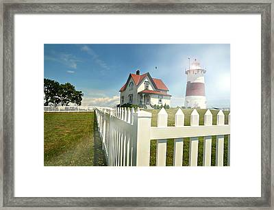 Light In Your Heart Framed Print by Diana Angstadt