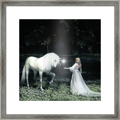 Lightbringer Framed Print by Melissa Krauss