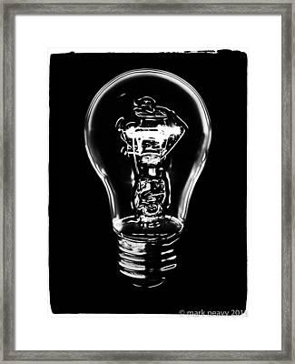 Lightbulb Framed Print
