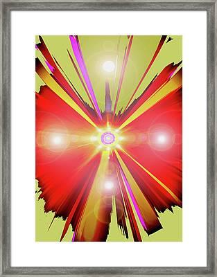Lightcross No. 01 Framed Print by Ramon Labusch