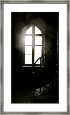 Lighted Glass Framed Print by Sonja Anderson
