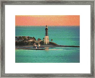 Lighthouse 1006 Framed Print