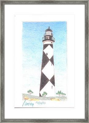 Lighthouse 3 Framed Print by Rod Ismay