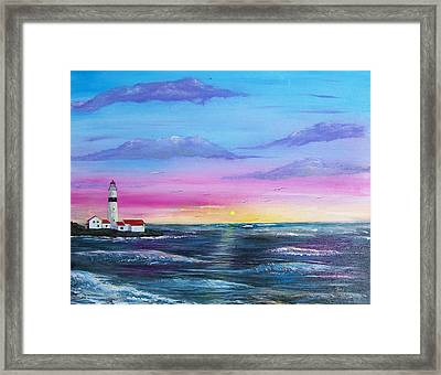 Lighthouse  5 Framed Print by Tony Rodriguez