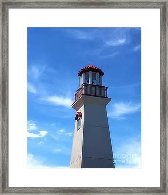 Lighthouse Framed Print by Anthony Djordjevic