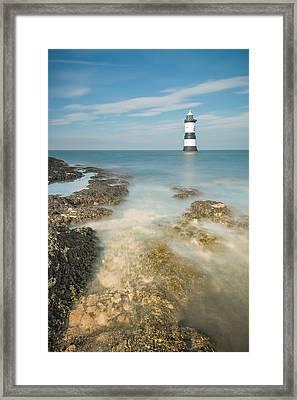 Lighthouse At Penmon Framed Print