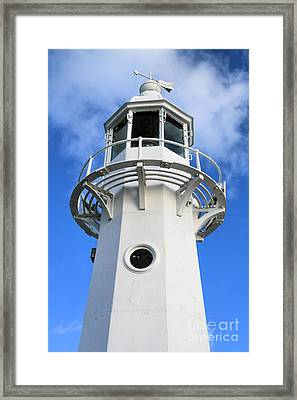 Lighthouse Framed Print by Carl Whitfield