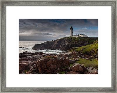 Lighthouse Framed Print by Drago Cerovsek