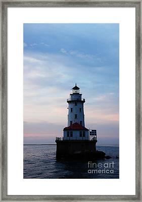 Lighthouse Framed Print by Evia Nugrahani Koos
