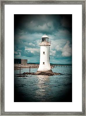 Lighthouse Framed Print by Gabriela Insuratelu